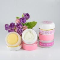 paket murah pemutih wajah / krim siang malam / cream glowing