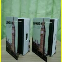Jual Brangkas Model Buku/Book Safe/Steel Book London Murah