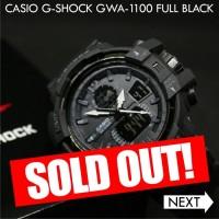 Jam Tangan Pria Casio G-Shock GWA 1100 Full Black