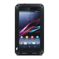 for Sony Xperia Z1 Love Mei Powerful Case Hard Casing Bumper Cover