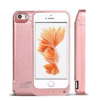 For iPhone 5 5C 5S SE Power Bank Power Case 4200mAh