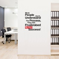 Cutting Sticker Quotes Most People Stiker Kaca Dinding Rumah Kantor