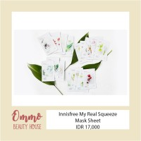 Jual *NEW* Innisfree My Real Mask Sheet Murah