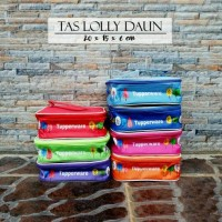 tas tupperware lolly tup