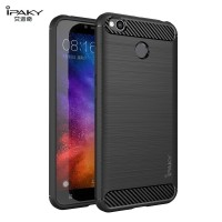 Case Xiaomi Redmi 4x Ipaky Carbon Fiber Soft Series