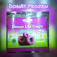 Diskon Donat Frozen Ubi Ungu isi 10