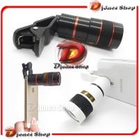 harga Lensa Telezoom 8x Jepit   |  Mobile Phone Telescope Universal Tokopedia.com