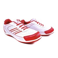 Sepatu Running Casual Sport TREKKERS Wanita M-Claudia Putih/Merah Bata