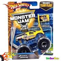 Hotwheels MONSTER JAM Team Flag - Bounty Hunter Hot Wheels Ori Mattel