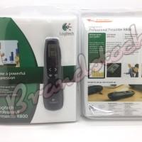 Logitech R800 Laser Pointer Wireless Presenter presentasi