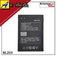 Baterai Hanphone Lenovo BL203 Lenovo A66 A278 A369 A369i Batre HP