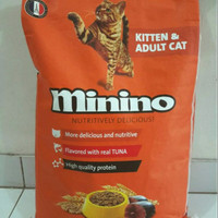 Makanan Kucing MININO TUNA Premium 7,5 kg skls Whiskas LUAR DAERAH