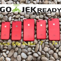Jual PREMIUM THIN RED HARD CASE CASING IPHONE 5/5S/SE/6/6+/6S/6S+/7/7+ Murah