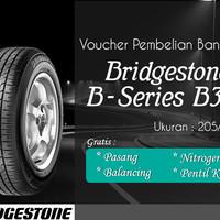Ban Mobil Bridgestone B390 205/65R15 (Voucher)