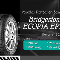 Ban Mobil Bridgestone Ecopia EP150 185/65R15 (Voucher)