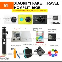 Jual Xiaomi Yi Action Camera - Travel Edition Paket Komplit 16GB Murah