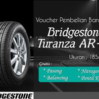 Ban Mobil Bridgestone Turanza AR20 185/65R15 (Voucher)
