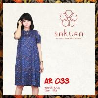 Dress Batik wanita modern