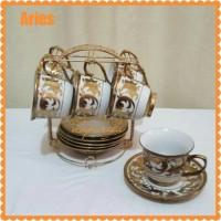 Cup and Saucer Vicenza CR90-1 / perlengkapan minum teh kopi 13pcs