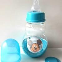 Jual Botol Susu Bayi Lynea Mickey Mouse Miki Blue 150ml BPA Free Murah