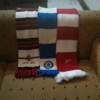 Jual Original Scarf/Syal Arsenal Chelsea (Mint 90%) Milan Stok Kosong Murah