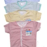 Miyo Garis Baju anak kecil pendek  sz. L (4pcs)