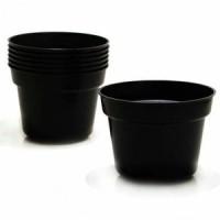pot bunga / Pot plastik hitam 20
