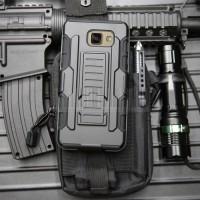 Police Armor Hard Case Cover Casing Hp Samsung Galaxy A3 A5 A7 2017