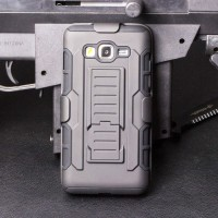 Police Armor Hard Soft Case Cover Casing Hp Samsung Galaxy A3 A5 2015