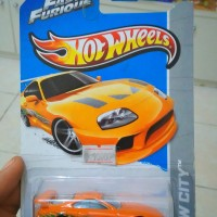 Hot Wheels Fast and Furious Toyota Supra