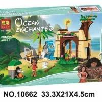Lego Bela 10662 Ocean Echanted 206pcs Princess Vaiana Moana Ocean