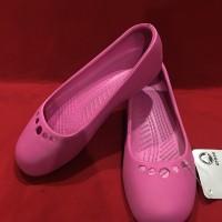 Crocs Prima / Flower Dance/ Lenora sepatu flat