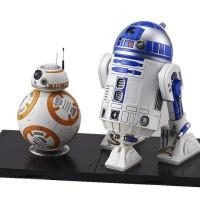 Bandai Star Wars BB-8 & R2-D2 1/12 BANDAI BB8 R2D2