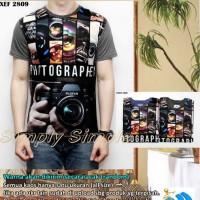 Jual Kaos Oblong Full Print - Photo 2809 Murah