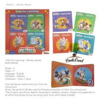 Jual Tales for Learning Mickey Mouse (Story books)8 Murah
