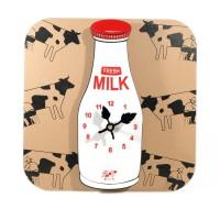 Jam Dinding Milk