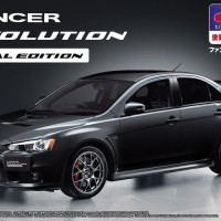 Aoshima 1/24 Mitsubishi CZ4A Lancer Evolution Final Edition prepainted