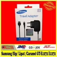 Charger Samsung flip/ Lipat / Caramel GT-E1272 E1272 Original 100%