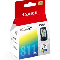 Tinta Canon Pixma Printer Ink Cartridges 811 CL-811 Color - Original