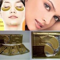 Masker Mata Gold / Crytal Collagen Gold Powder Eye Mask