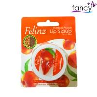 Felinz Lip Scrub Frosted Peach 5g (Scrub Bibir)