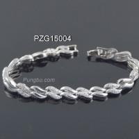 Gelang Ombak Putih Kristal PZG15004
