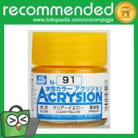 Acrysion N-91 Clear Yellow / Mr Hobby Cat Gundam Model Kit