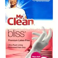 Mr Clean Bliss Sarung Tangan Free Latex Cocok Untuk Bersih2 Size M