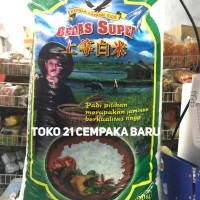 Beras Tani Super 20KG Kepala Crystal Rice Asli Putih Setra Ramos 20 KG