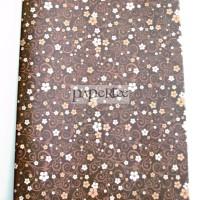 Kertas Kado Bunga Coklat / Bungkus Kado Wrapping Paper