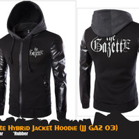JAKET ANIME THE GAZETTE HYBRID JACKET HOODIE (JJ GAZ 03)