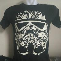 Jual Kaos Glow In The Dark Star Wars Stormtrooper Murah