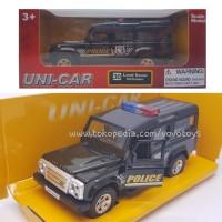 Unicar 1/32 Land Rover Defender Police Car