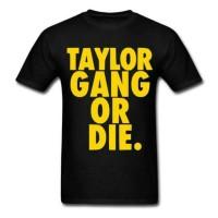 kaos/baju/t-shirt taylor gang or die